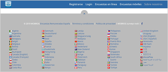 pltaforma disponible a nivel mundial
