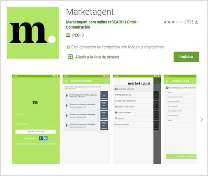 descarga la app de marketagent gratis para movil